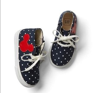 Baby GAP Kids Disney Mickey Mouse Shoes